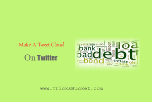 Tweet Cloud On Twitter
