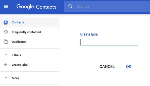 create label in gmail