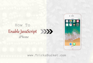 how to enable javascript iPhone.
