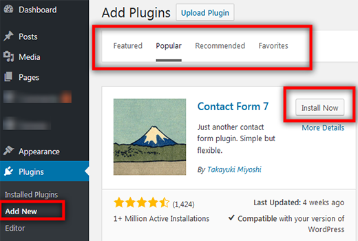 How to add WordPress plugin