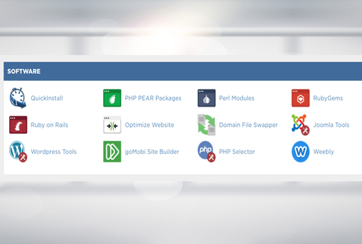first step install WordPress on Hostgator