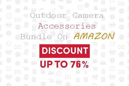 outdoor camera accessories bundle on Amazon