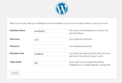 Step 2 how to build a WordPress website offline