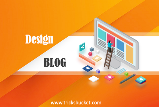 design a free blog on wordpress