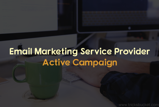 Active campaign Email Marketing Service Provider