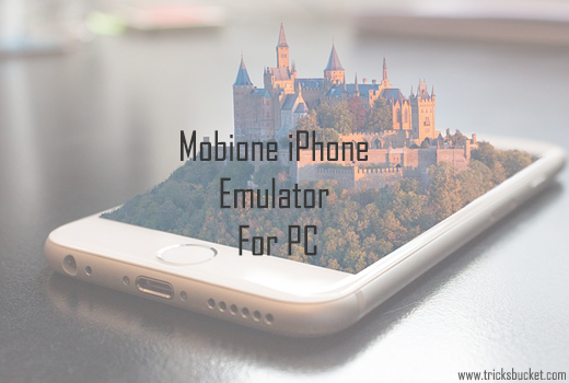 Mobione iPhone emulator for pc