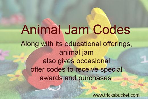 Animal Jam Codes for Diamonds & Gems 2019