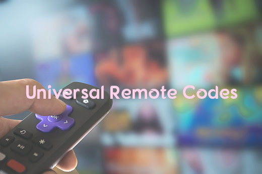 Remote Codes | How to Program Remote with Universal Remote Codes